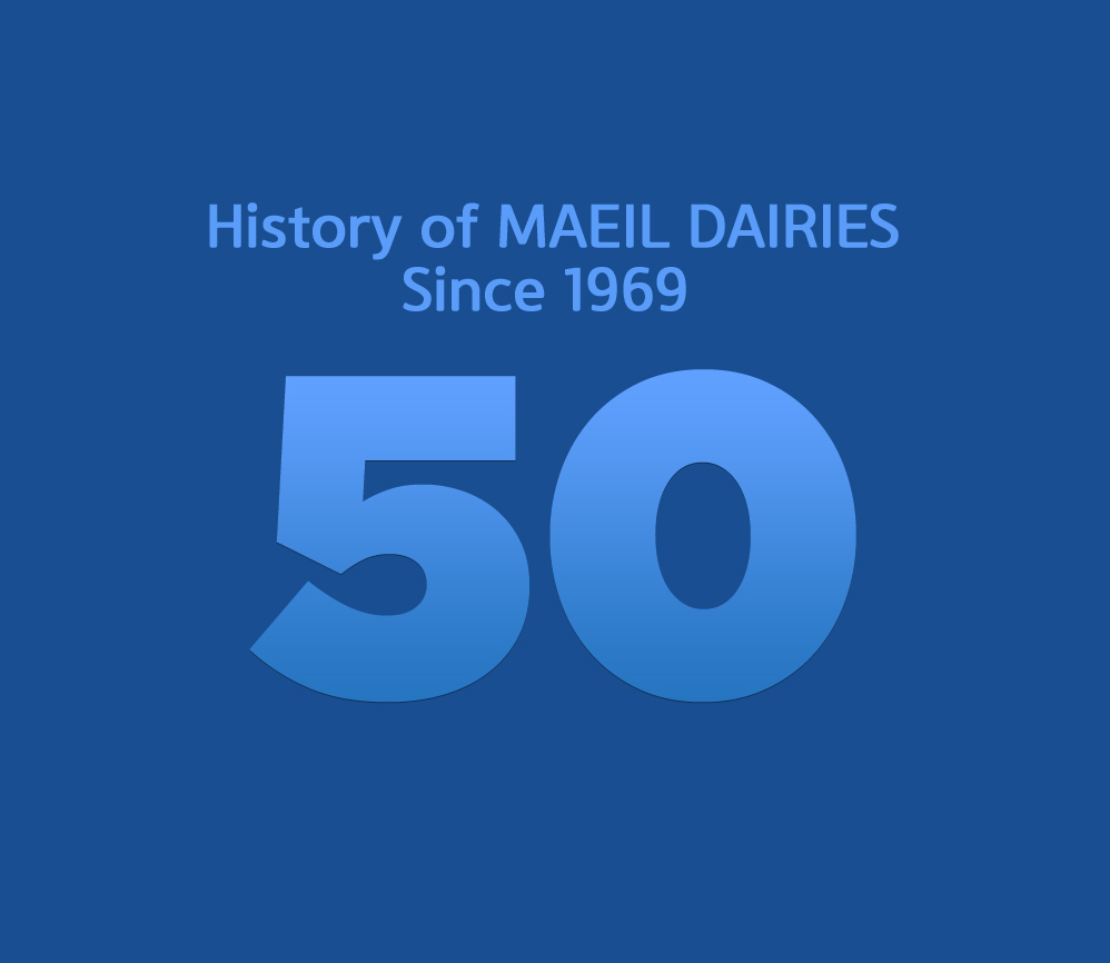 History of MAEIL DAIRIES Since 1969  50